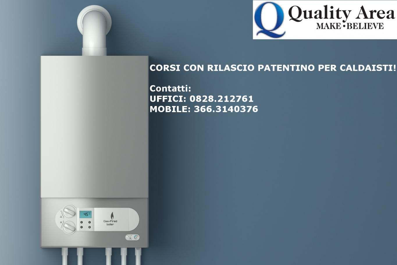 Patentino CALDAISTI (IN TUTTA ITALIA)