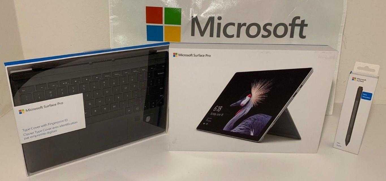 Surface Pro 5 Intel i7 512GB Keyboard-Pen Office 365