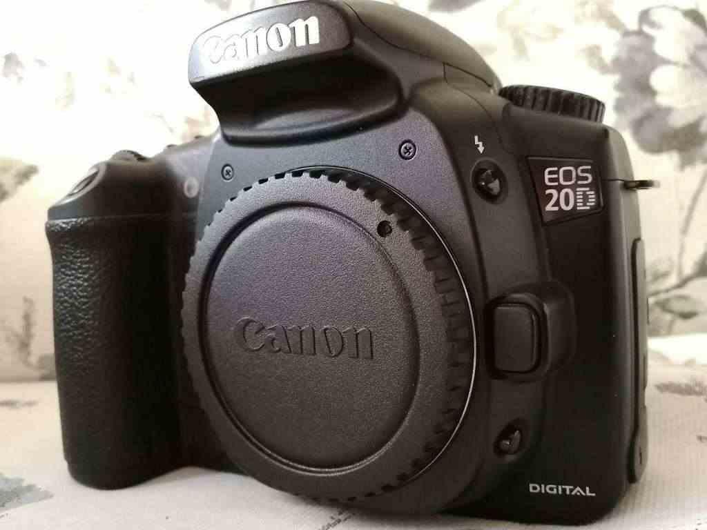 CANON 20d + battery grip (pochissimi scatti)