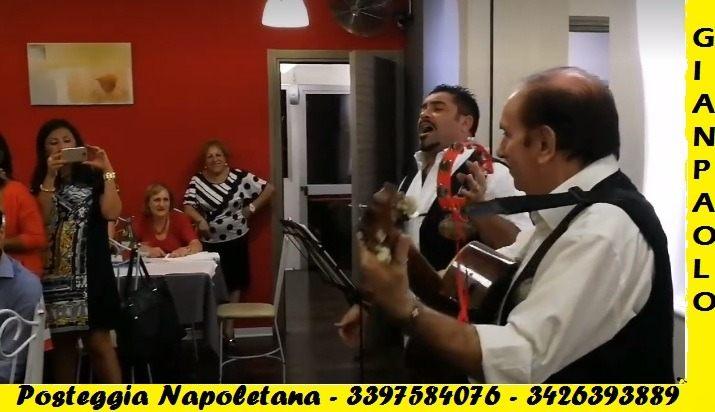 POSTEGGIA napoletana , serenata , piano bar , tenore in chiesa