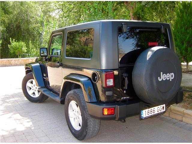Jeep Wrangler 2.8 CRD Sahara