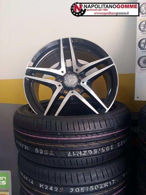 Cerchi 17 pollici Mercedes classe C E CLK SLK AMG