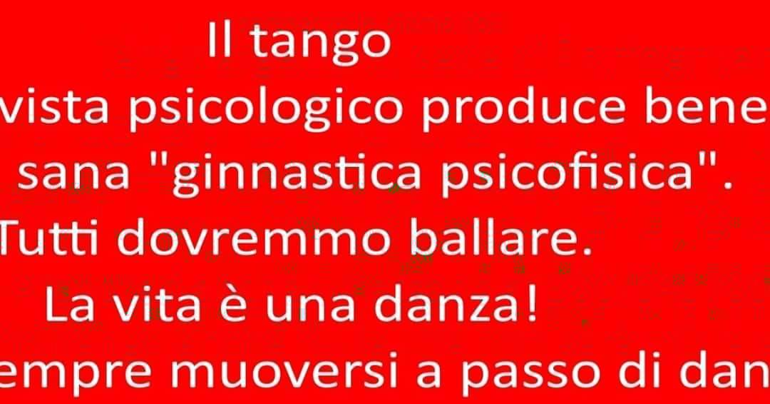 Tango Argentino nuovo corso principianti
