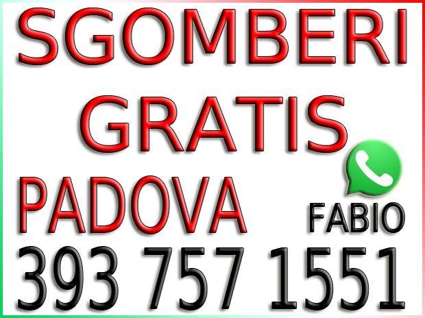 Sgomberi Gratis - Cantine - Soffitte - Garage - Box - Padova
