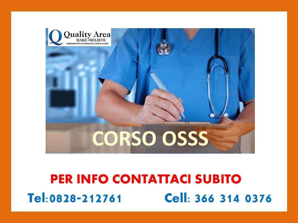 Corso OSSS (IN TUTTA ITALIA)