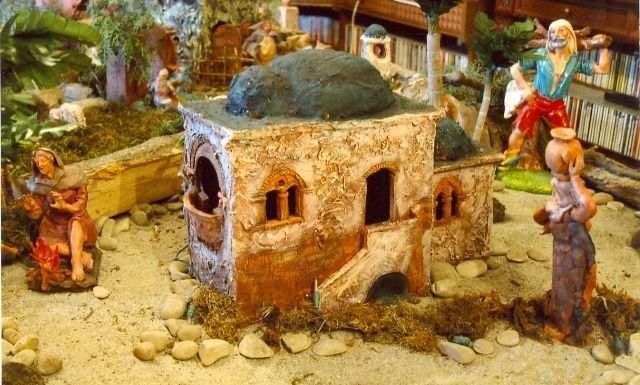 Casa araba di presepio napoletano