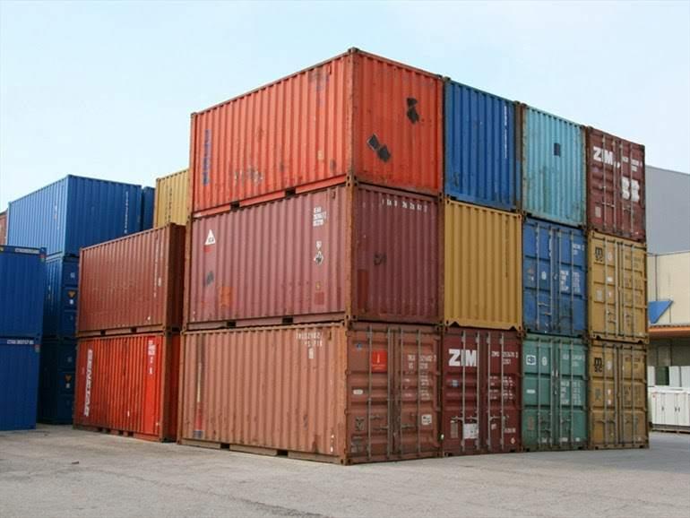 Container in ferro uso deposito 20box/40box/40HC