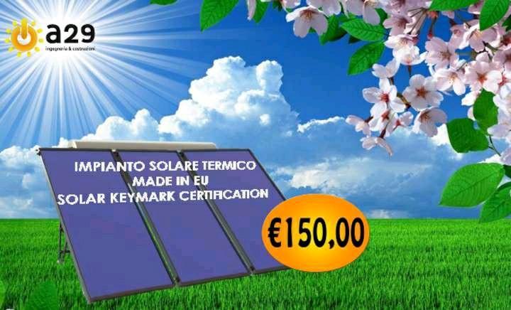 kit solaretermico contotermico 2.0 in formula esco