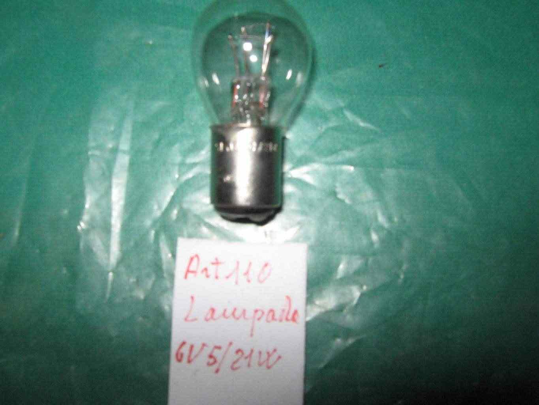 lampada 6v5-21w ciclomotore d'epoca