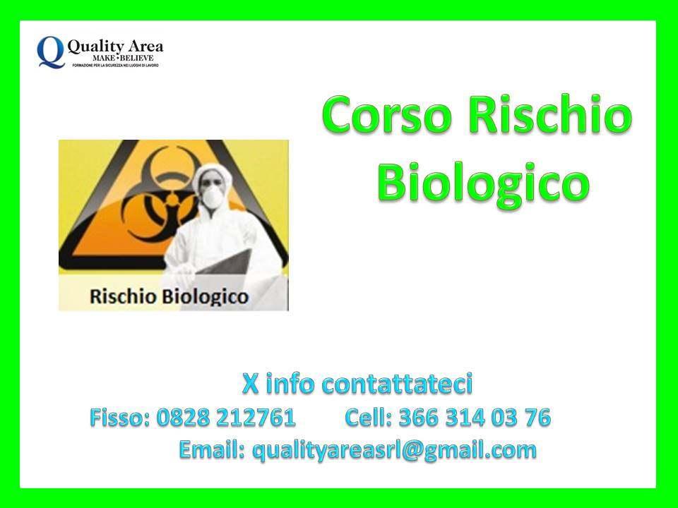 Corso Rischio Biologico (SICUREZZA NEI LUOGHI DI LAVORO)