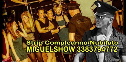 Stripman Spogliarellista Festa Addio Nubilato e compleanno