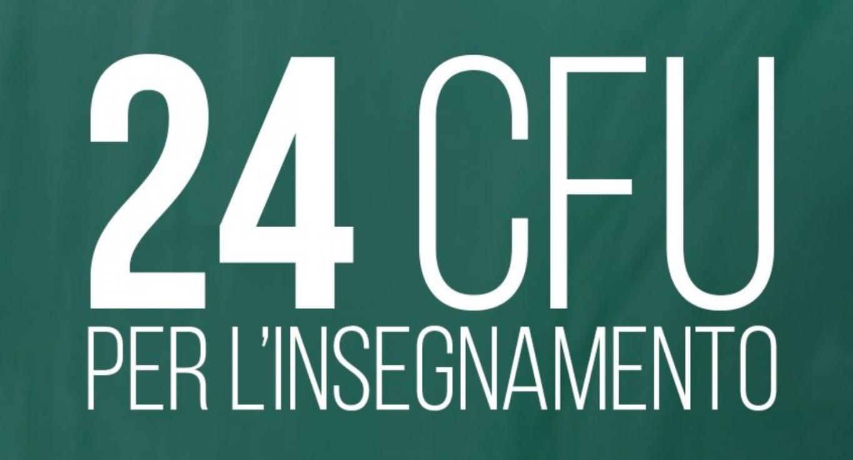 24 CFU (INSEGNAMENTO)