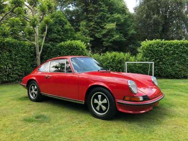 Porsche 1973 911T 2.4 ORIGINAL