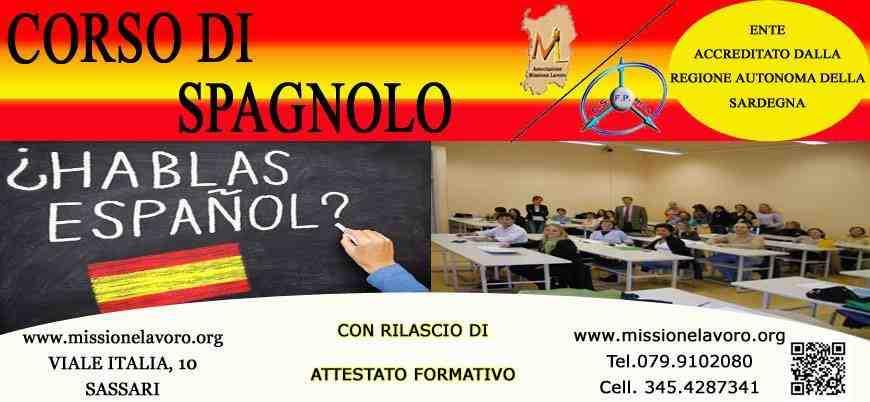 CORSO DI SPAGNOLO BASE/INTERMEDIO