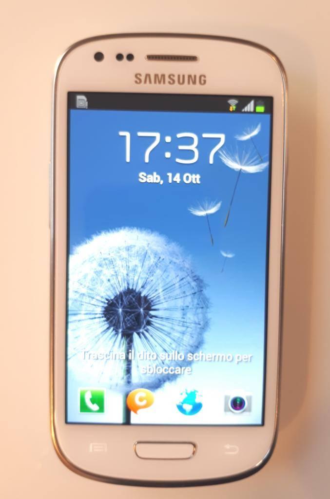 Samsung Galaxy S3 Mini bianco
