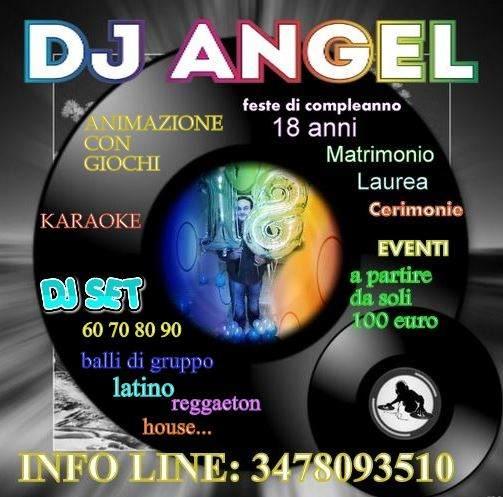 A soli 100 euro dj animatore karaoke 18 anni feste eventi