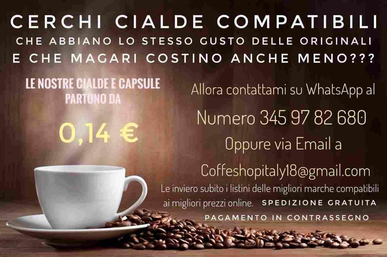 Caffé in Cialde e Capsule Originali e Compatibili delle migliori marche