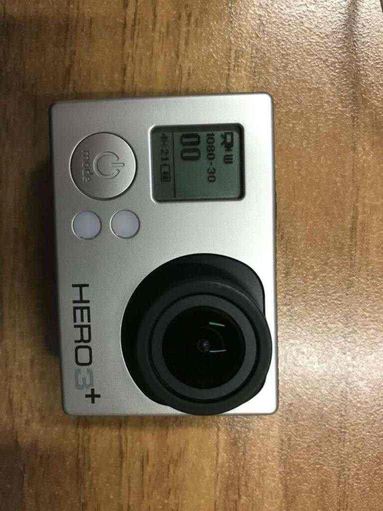 GoPro Hero 3+ Silver Eition + caricabatterie & accessori