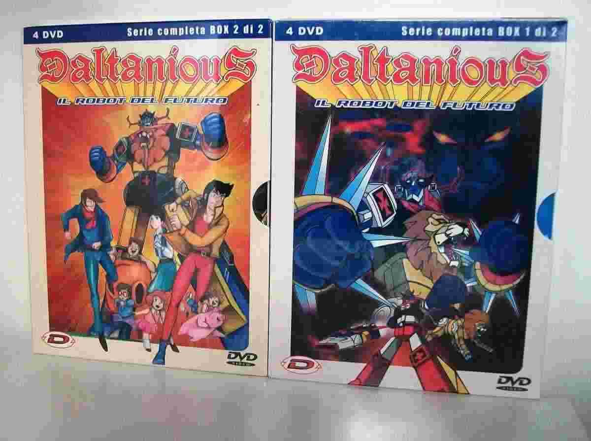 Daltanious in 2 box originali della dynit