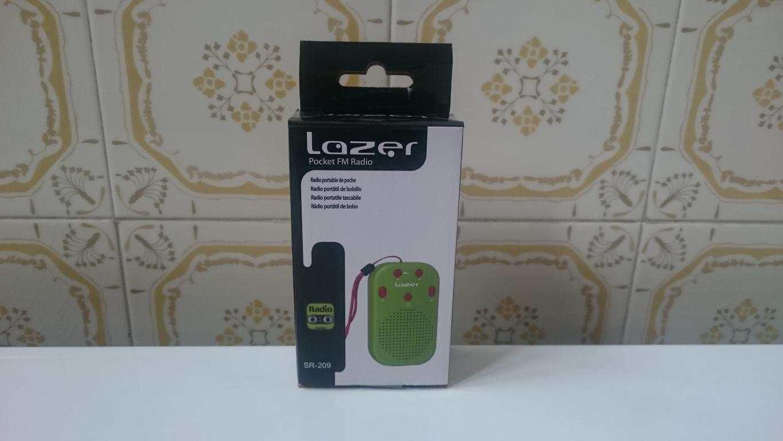 Radio portatile tascabile Lazer