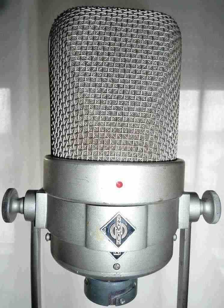 Microfono Neumann M 49c