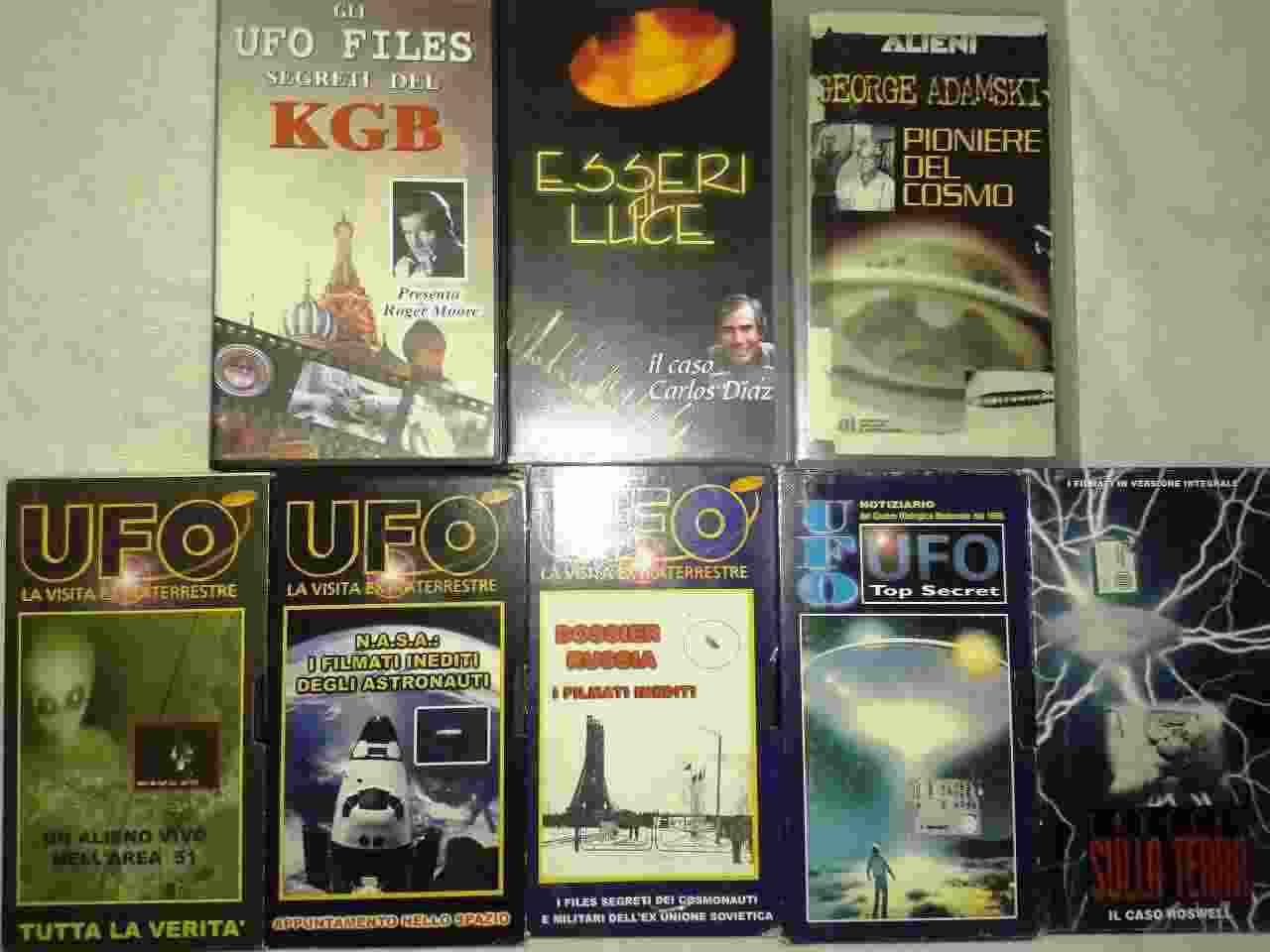 UFO & ALIENI, 27 Vhs in condizioni perfette, Hobby&ampWork. Lista 2