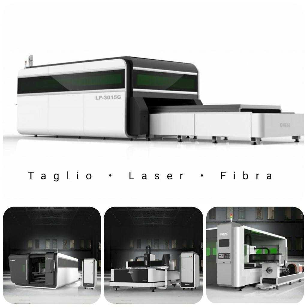 Taglio Laser Fibra a CNC