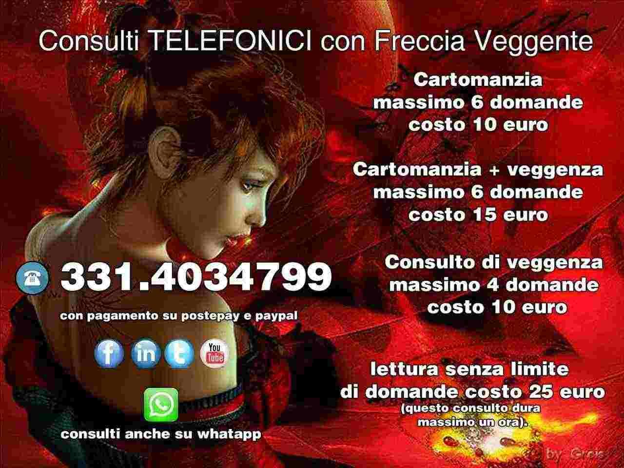 Cerchi una risposta vera? Chiama 331 403 4799