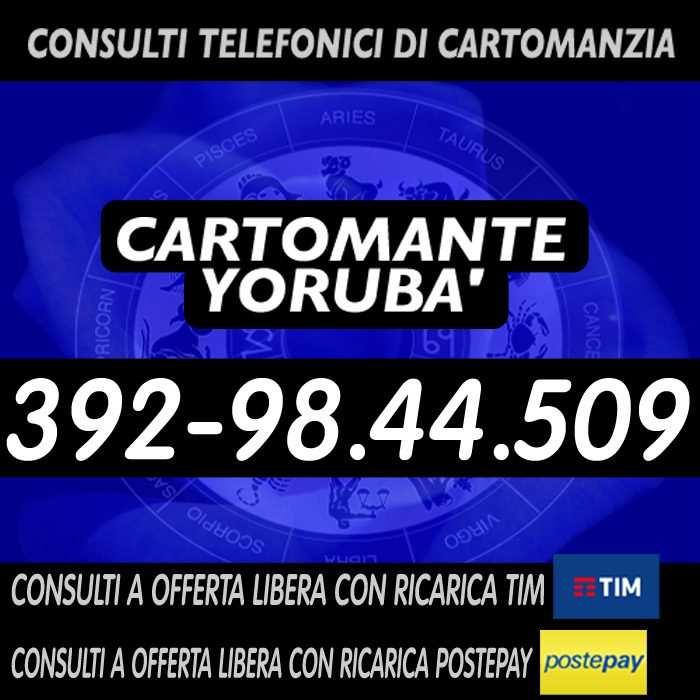 Prova la Cartomanzia a basso costo con il Cartomante YORUBA'