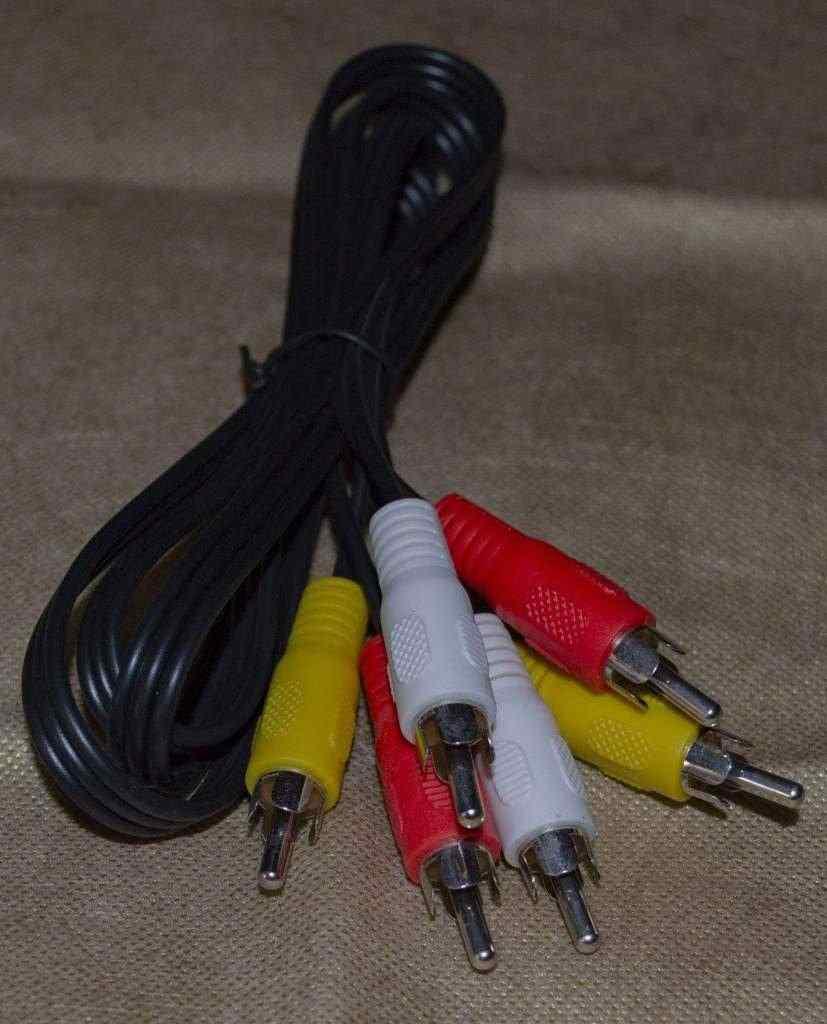 prolunga cavo audio/video con attacchi RCA M/M