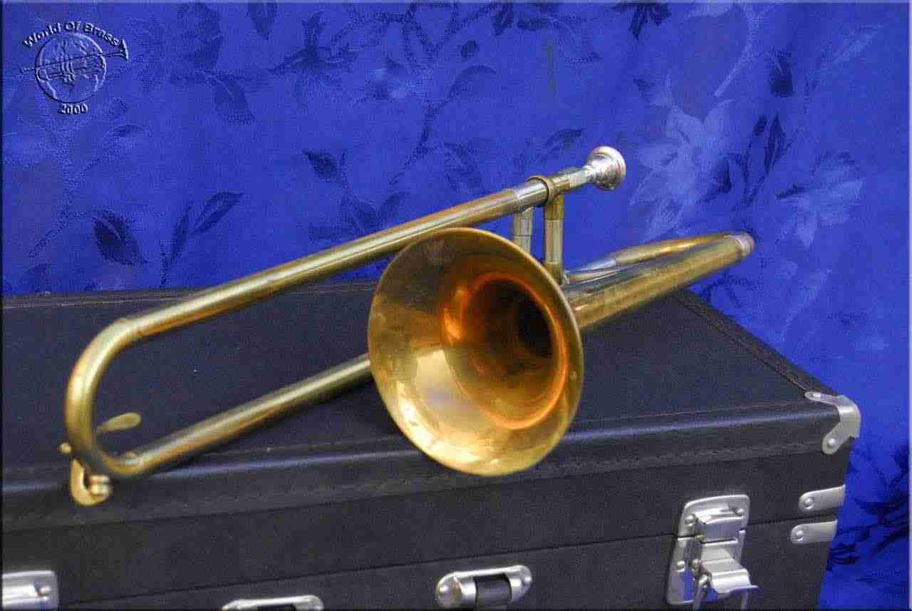 Getzen Super De Luxe Balanced slide cornet 7671