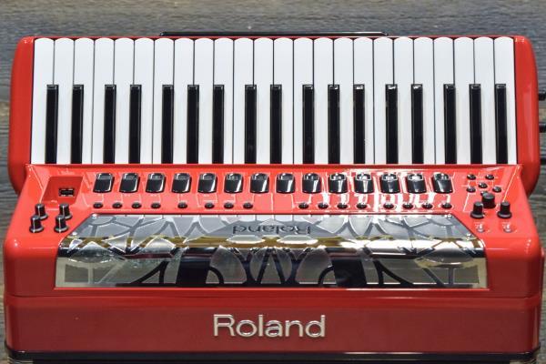 Fisarmonica Roland FR-8X-RD V-Rosso