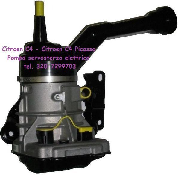 Citroen C4 Picasso pompa servosterzo elettrica