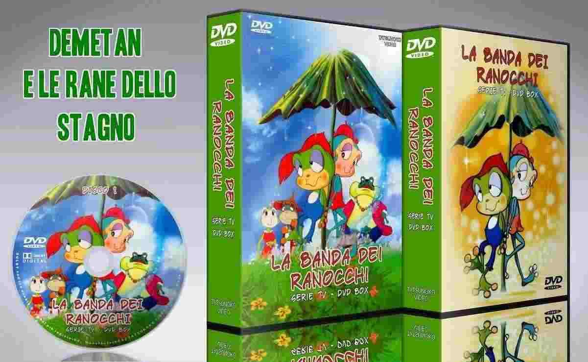 Demetan e la banda dei ranocchi in dvd