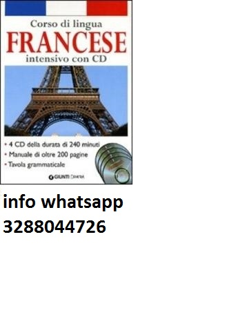 corso di lingua francese 4 cd