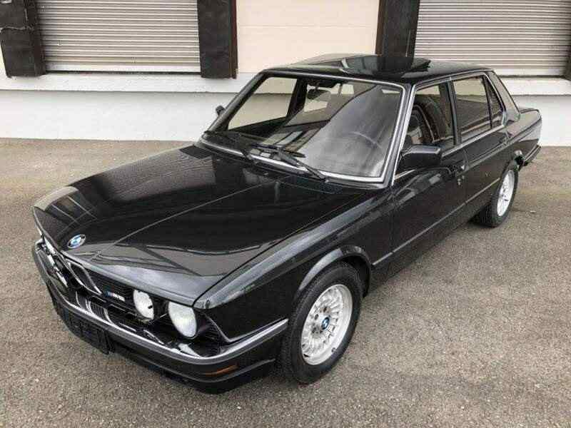 1985 Bmw M5 E28 286 CV
