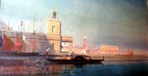 dipinti antichi valutazione, Veduta di Venezia