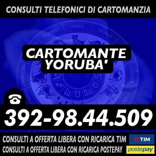 CONSULTO DI CARTOMANZIA CON OFFERTA LIBERA