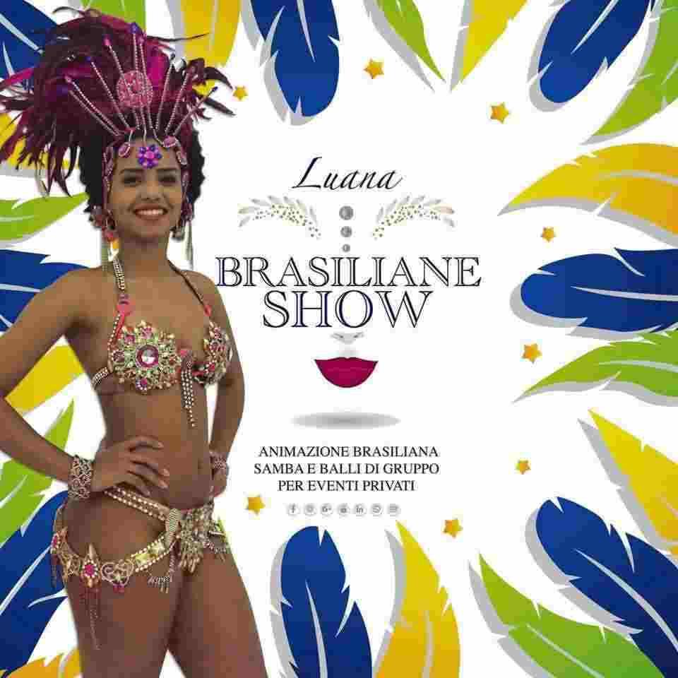 Ballerine brasiliane animazione di samba Napoli Caserta Avellino Salerno Benevento