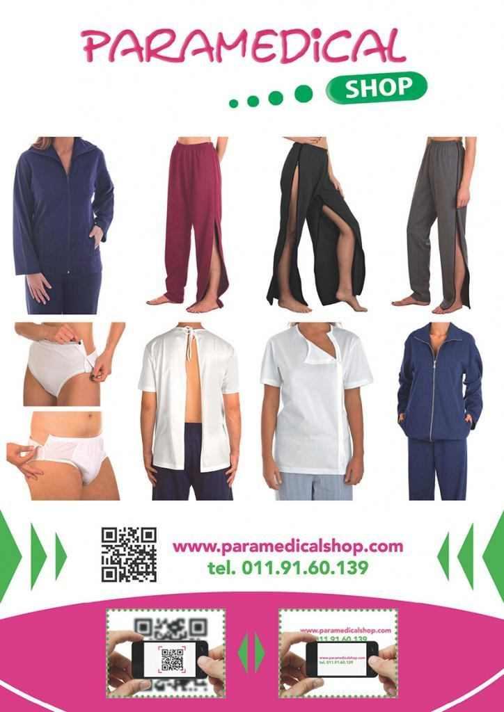 Pantaloni per riabilitazione su Paramedicalshop