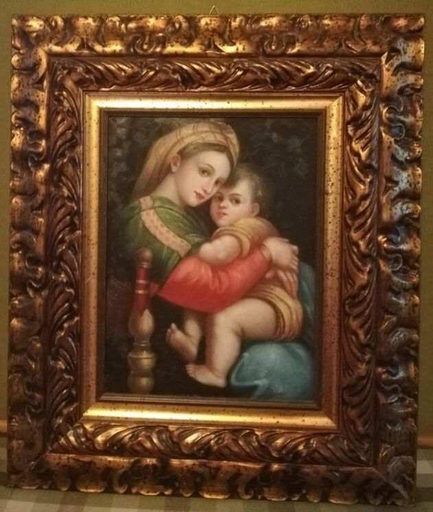 Quadro Madonna della seggiola