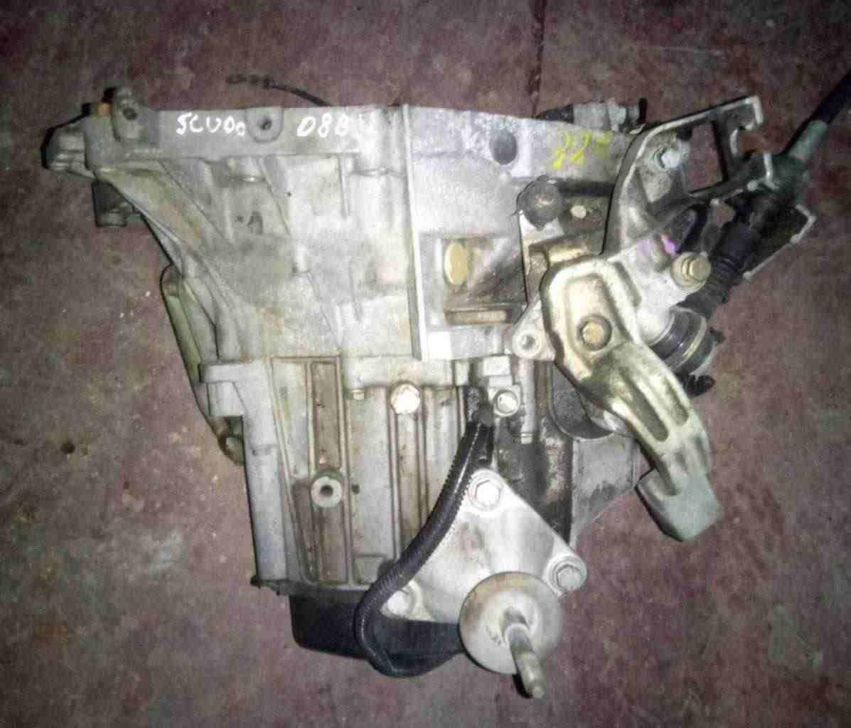 Cambio Fiat Scudo 1900 Turbo diesel anno 1998 D8B