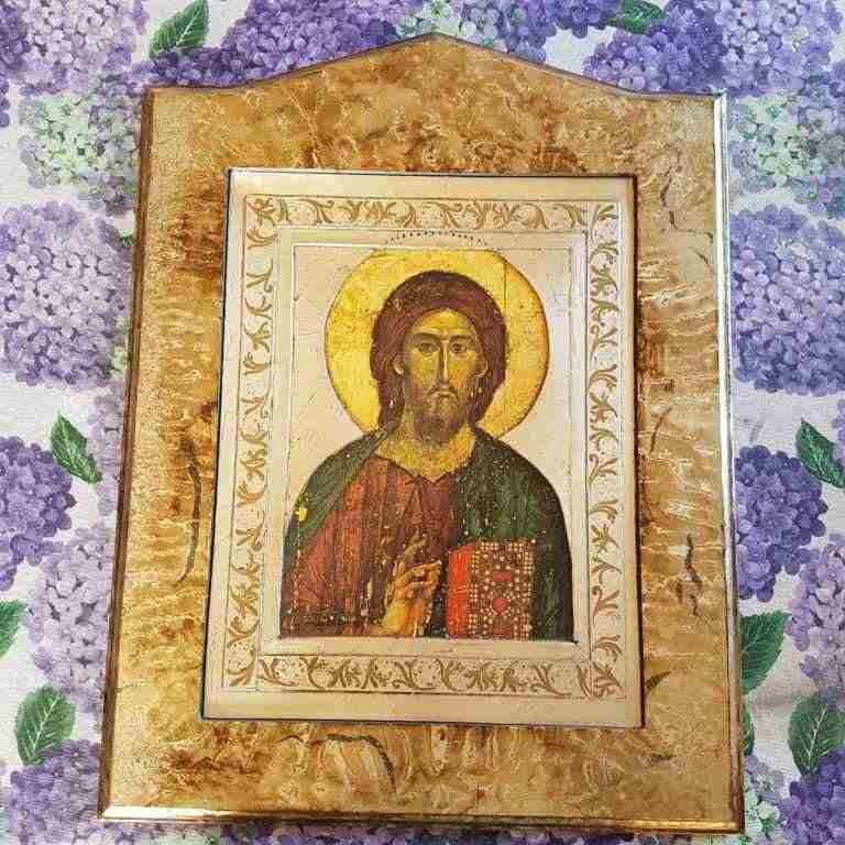 Quadro arte sacra raffigurante Gesù