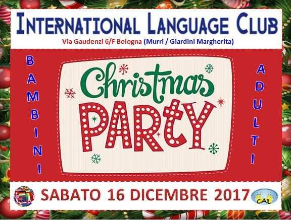 Evento di Natale all in English a Bologna!