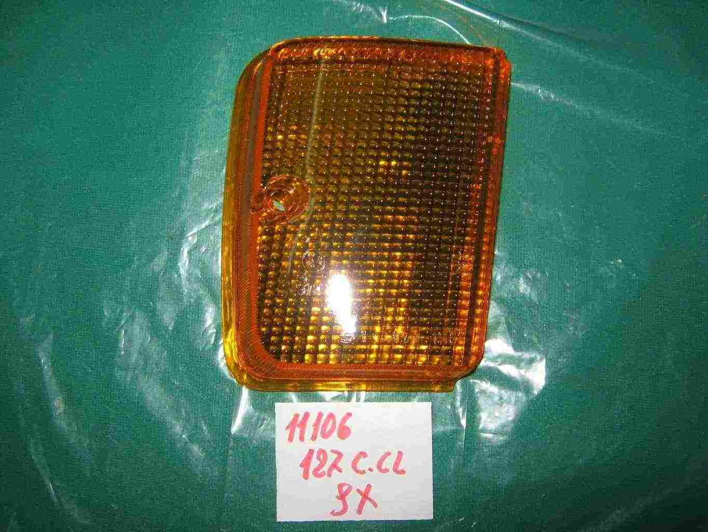 Trasparente posteriore arancio fiat 127 c-CL