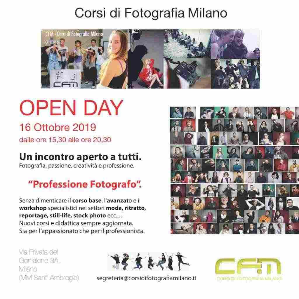 Open Day Corsi Fotografia