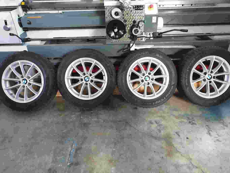 Vendo 4 cerchioni BMW X3 (F25) + gomme invernali