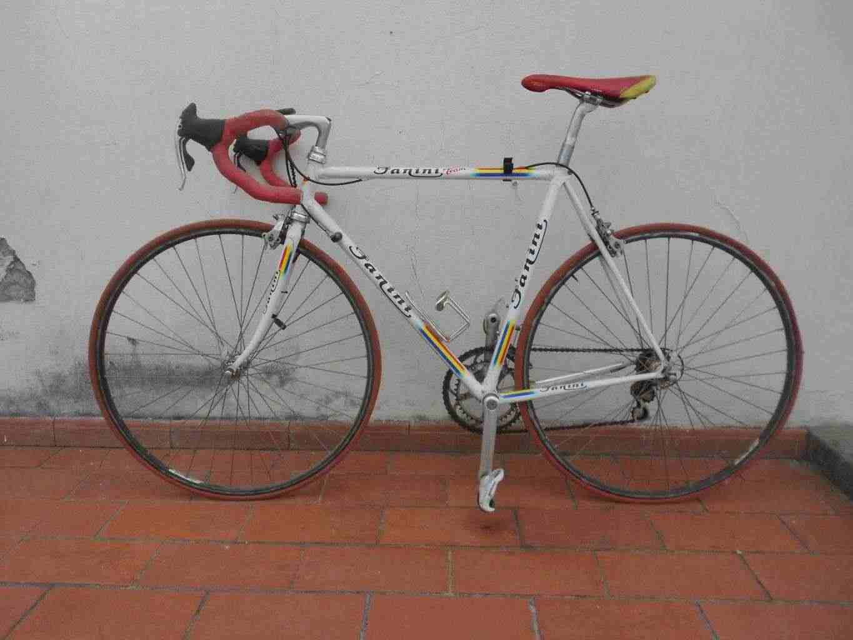bicicletta da corsa tim fanini