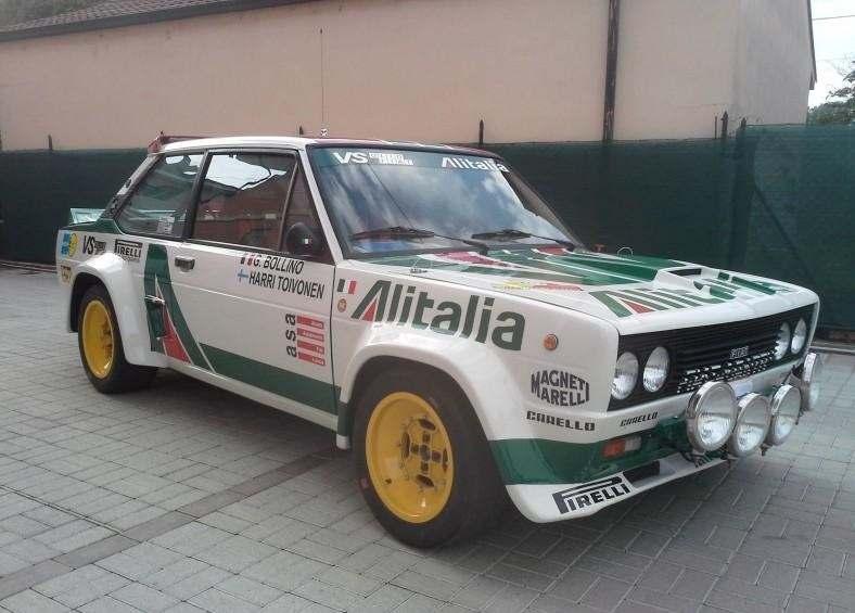 FIAT 131 RALLY GR. 4