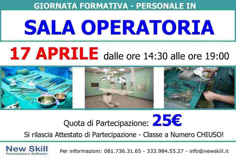 Giornata Formativa - Personale in Sala Operatoria
